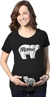 Maternity Mama Bear Baby Bear Pregnancy Tshirt Cute Family Baby Bump Tee