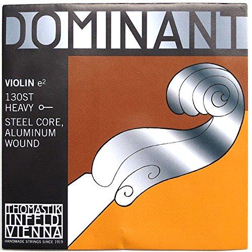 Thomastik Einzelsaite für 4/4 Violine Dominant - E-Saite Stahlkern, Alu. umsponnen, stark, Kugel