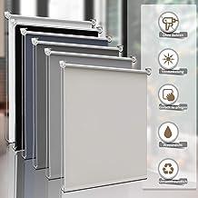Schellenberg 50676 Insektenschutz Klemmrollo Wandmontage-Set zur Montage auf dem Mauerwerk optional klebbar