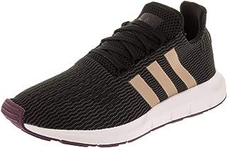 adidas Women's Swift Run Originals Core Black/Ash Pearl/Footwear White Running Shoe 8.5 Women US