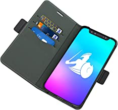 DefenderShield Compatible iPhone XR EMF Radiation Case - Detachable Magnetic Anti Radiation Shield & RFID Blocker Wallet Case - Cell Phone Radiation Protection