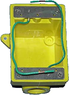 Marinco 6083CR Marine FD Box for 15, 20, 30, and 50-Amp Receptacles, and 7420CR and 7788CR Covers (Two 3/4