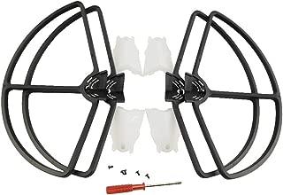 Sdoveb 4pcs Propeller Protective Guard for XIRO Xplorer/Xplorer G/Xplorer V RC Drone Quadcopter Props Cover (Black)