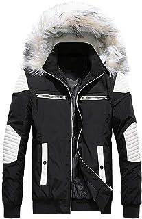 cheap for discount 9435c 3d335 Amazon.it: Giubbotto con pelliccia - Giacche e cappotti ...
