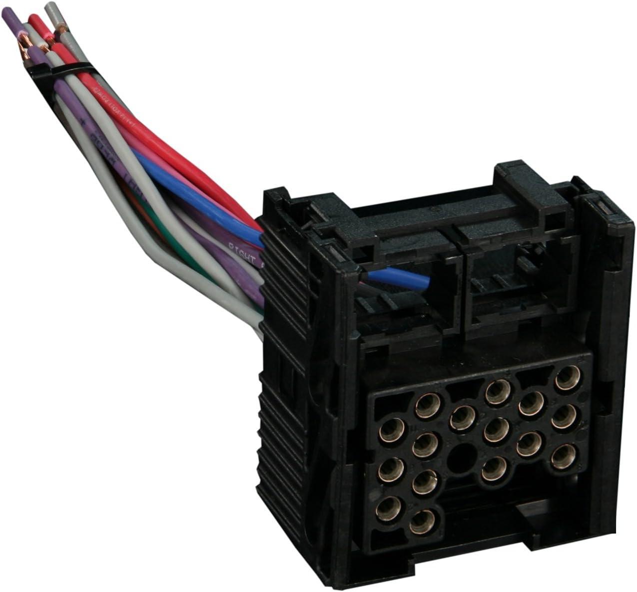 amazon.com: metra 71-8590 reverse wiring harness for select 1990-2002 bmw  vehicles oem radio: car electronics  amazon.com