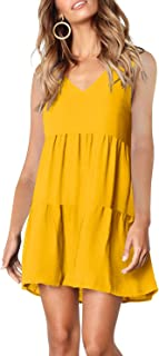 Yellow Dress Cover Up