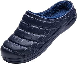 [WOTTE] サンダル 冬 サボサンダル ボア付き 防水 保温 滑り止め クロッグ スリッパ ルームシューズ 男女兼用