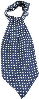 Blue Knightsbridge Neckwear Mens Paisley Silk Cravat