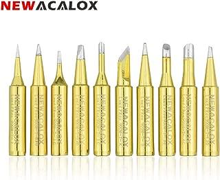 10pcs Titanium Coating Soldering Iron Tips 900M-T Lead-free Solder Tip