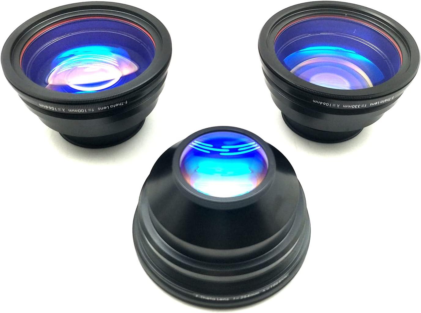 MCWlaser Fiber Lens Price reduction 110x110mm Area Time sale Mark Laser For Engraver