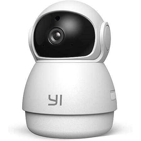 Yi Cámara de Vigilancia 1080p Dome Guard Camara IP Sistema de Seguridad WiFi de Interior Full HD, Detección de Movimiento, Visión Nocturna, Audio de 2 Vias y Nube con App para iOS y Android (Blanco)