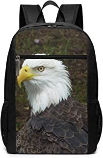 SBRQBgwj Bald Eagle Finger Spinner Hand Fidget Spinner Finger Toy Smooth Metal Bearing Great for Stress Reducer Boredom Anxiety Focusing ADD ADHD Autism College Backpack,Fashion Laptop Travel Bag