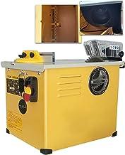 GUOZ Mini Sierra de Mesa, Sierra de Mesa Limpia pequeña Máquina de Corte de Motosierra de Madera de carpintería pequeña Sierra de Mesa de Madera 2300W 220V / 50Hz 4900R / min