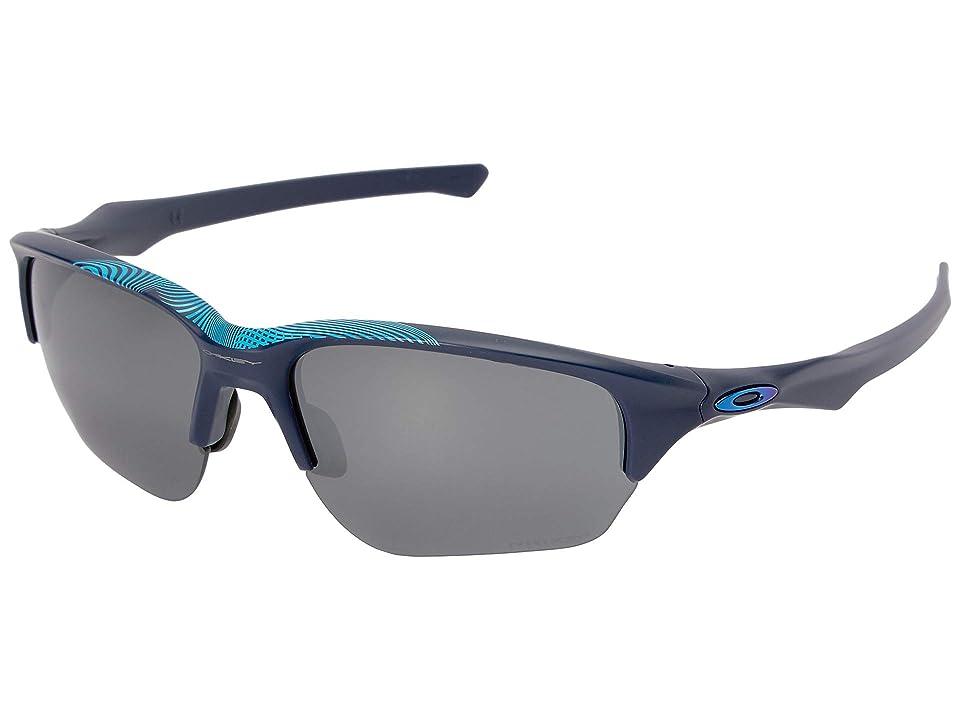 Oakley Flak Beta (Aero Matte Navy w/ Prizm Black) Sport Sunglasses
