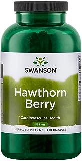 Swanson Hawthorn Berries 565mg, 250 Capsules