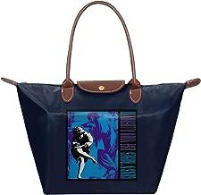 Guns N Roses Use Your Illusion II Waterproof Leather Folded Messenger Nylon Bag Travel Tote Hopping Folding School Handbags