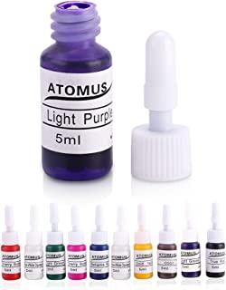 10 Colors Tattoo Ink Body Paint Microblading Eyebrow Permanent Makeup Tattoo Ink Set