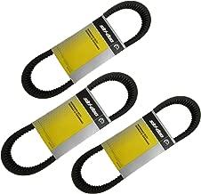 Ski-Doo New OEM Drive Clutch Belt THREE PACK 417300383 MXZ Summit GSX 2005-15
