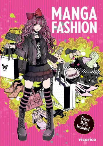 Manga Fashion with Paper Dolls (English Edition)