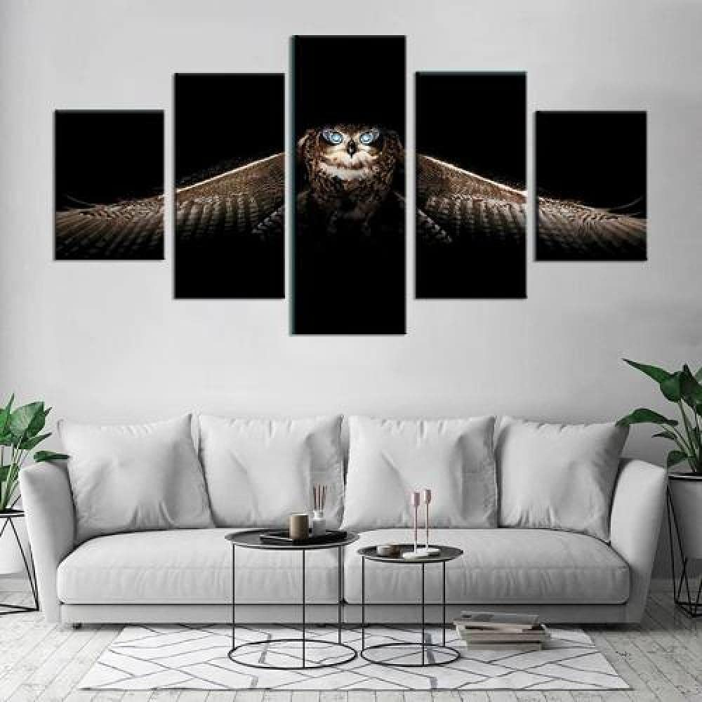QQWER 5 Piece Popular standard Wall Art Canvas Selling rankings Panel Pieces Picture Painting
