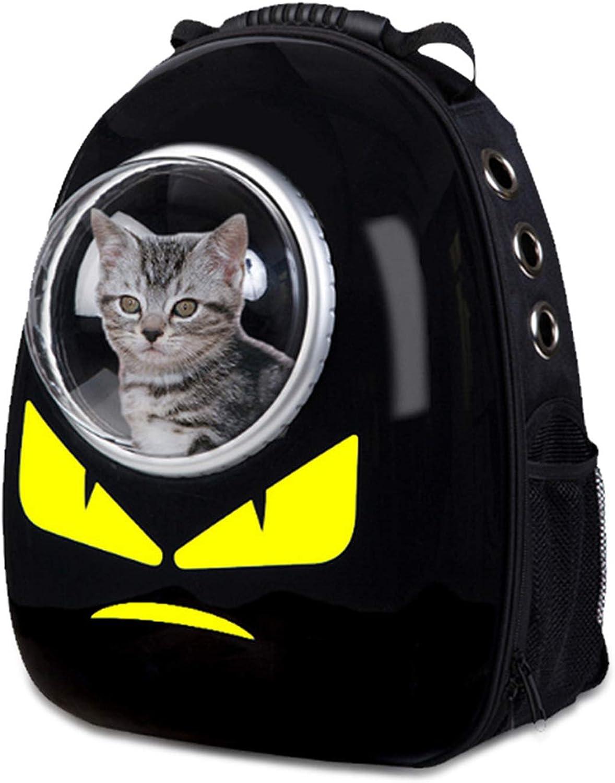 MAOMEI Pet Space Tasche, Luxus Hundebeutel, Katze Aus Tasche, Rucksack, Schwarz, 32  29  42cm