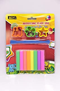 SBC Modeling Clay 8 Colors 5319-005