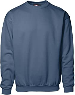 ID Unisex Classic Loose Fitting Round Neck Sweatshirt