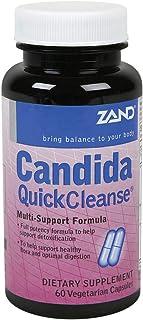 Zand - Candida Quick Cleanse 60 Vegetarian Capsules 69749