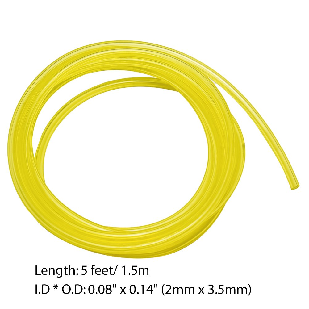 3Ft Petrol Fuel Line Hose 2 Size for Common 2 Cycle Small Engine Weedeater