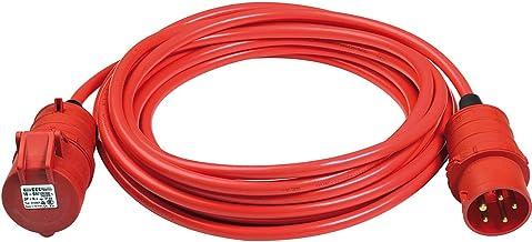 Brennenstuhl BREMAXX CEE förlängningskabel IP44 (10 m kabel, AT-N07V3V3-F 5G1,5, med CEE-kontakt och koppling, för utsidan...