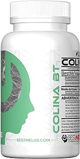Bestme Colina Bt ✔ Bitartrato de Colina 250 Mg. Nootrópico Natural para la Memoria y Concentración . Nutriente Esencial Precursor de la Acetilcolina . Alta Biodisponibilidad. 60 Cápsulas