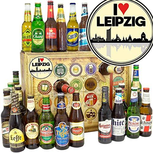 I love Leipzig + Bier Adventskalender + Bier aus aller Welt 24x