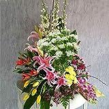 NAHUAA 4pcs Kunstpflanze Klein Plastikblumen Deko Pflanzen Künstliche Pflanze Blume im Topf Tischdeko Blumen für Valentinstag Vase Frühling Stuhl Balkon Garten Hochzeit - 6