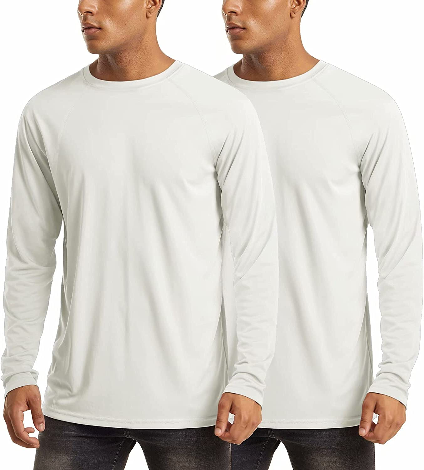 MAGCOMSEN Men's Sun Protection T-Shirt UPF UV 1 year warranty 50+ Sleeve Large-scale sale Long Mo