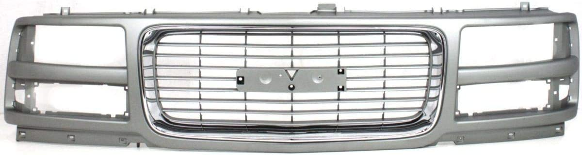 Grille For 1996-2002 GMC Savana 3500 Headlight Composite Mail order Max 53% OFF w 1500