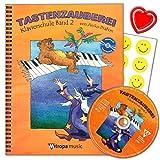 Tastenzauberei Band 2 - Klavierschule von Aniko Drabon. Schule für Einzel- und Gruppenunterricht in...