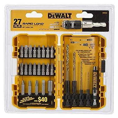 DEWALT DW2504 Compact Rapid Load Set, 27-Piece