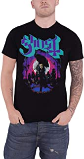 Ghost T Shirt Ashes Band Logo Prequelle Official Mens Black