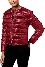 Michael Michael Kors Womens Petites Quilted Down Puffer Jacket