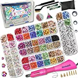 Hotfix Applicator, Hot Fixed Rhinestone Applicator Tool Kit, Bigger and More Gems Wand Set...