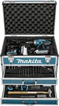 Makita DF457DWEX6 drill Negro, Azul 1,7 kg - Taladro eléctrico (1,3 cm, 3,6 cm, 42 Nm, 24 Nm, 2,5 m/s², 400 RPM)