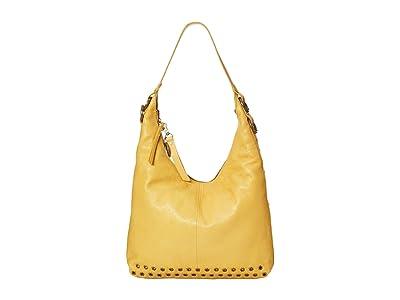 FRYE AND CO. Evie Hobo (Daffodil) Handbags