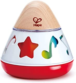 Hape E0332 Rotating Baby Music Box, Spin & Play The Music, Battery Not Needed, 40 x 40 cm, Multicolor