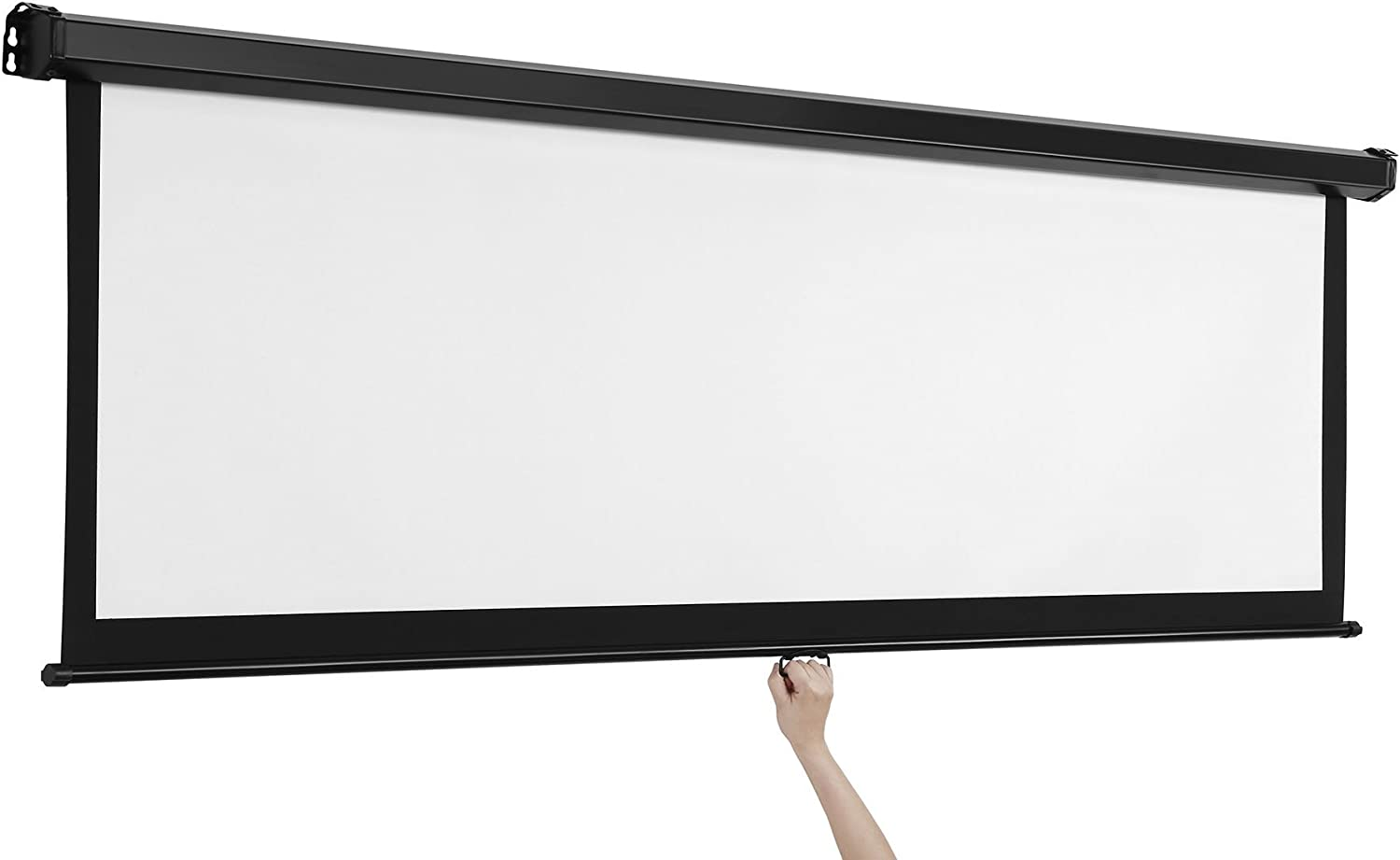 Buy VonHaus 20 Inch Projector Screen   Manual Pull Down   20 ...