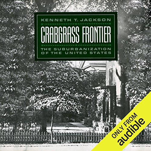 Crabgrass Frontier audiobook cover art