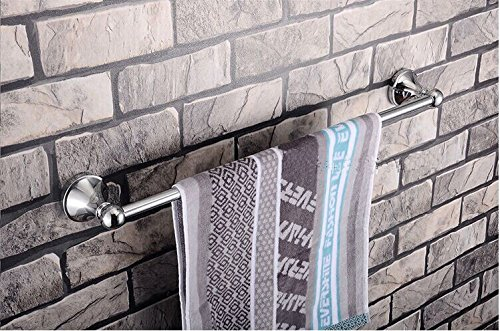 Accessoires de salle de bain direct accessoires porte-serviettes porte-serviettes alliage de zinc chromé brillant en acier inoxydable