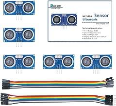 ELEGOO 5PCS HC-SR04 Ultrasonic Module Distance Sensor for Arduino UNO MEGA2560 Nano Robot XBee ZigBee