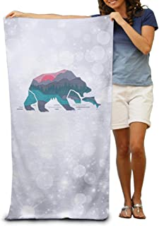 Aiguan Bath Towel - Bear Country Quick Dry Large Swim Beach Towels