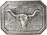 Ariat Rectangle Longhorn Buckle...