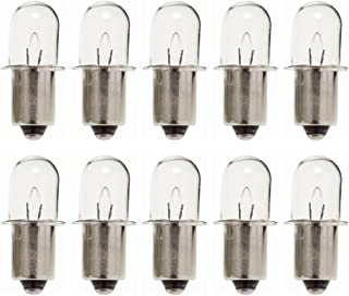 Ryobi Ridgid 18V Flashlight (10 Pack) Replacement 18V Flashlight Bulb # 780287001-10pk